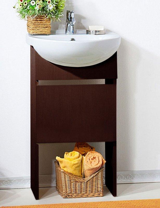 Бриклаер Мебель для ванной Катюша 50 венге