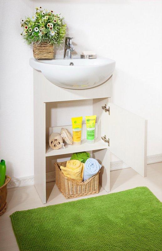 Бриклаер Мебель для ванной Катюша 50 светлая лиственница