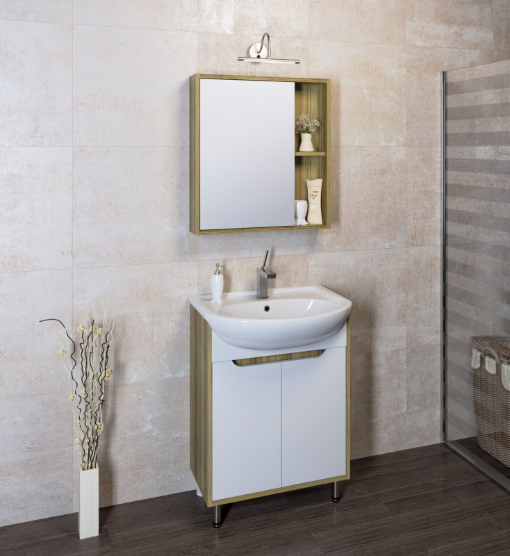 Runo Мебель для ванной Эко 50