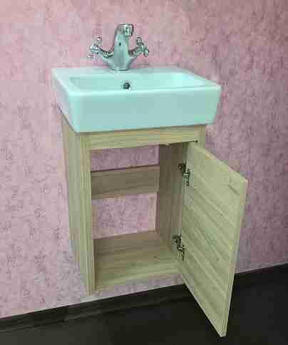 Sanflor Мебель для ванной Ларго 2 40 R вяз швейцарский