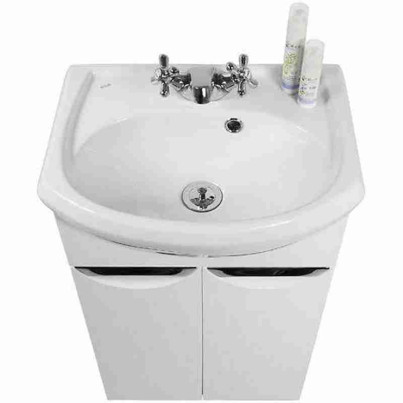 Водолей Мебель для ванной Лира 45 R белая