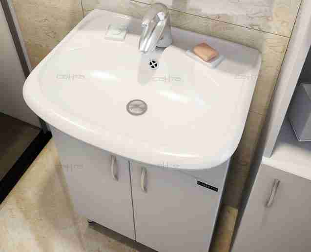 СанТа Мебель для ванной Сити Прима 50 L свет