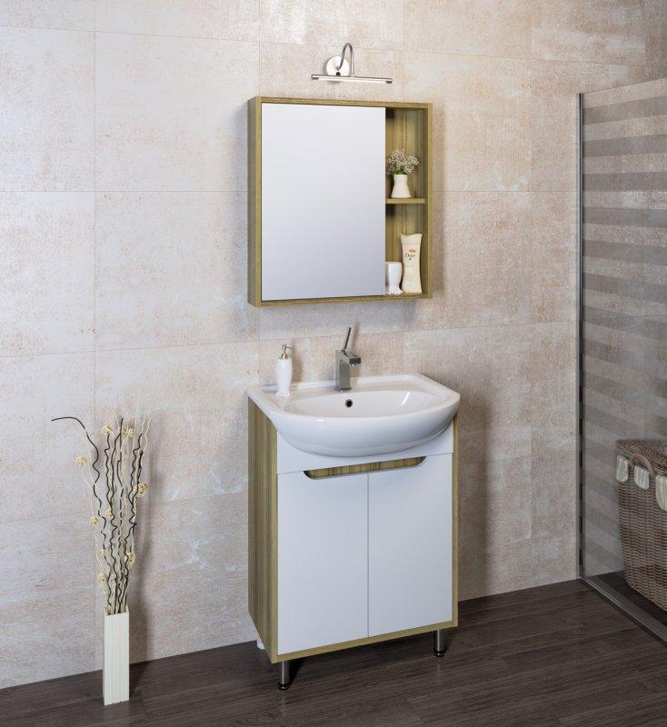 Runo Мебель для ванной Эко 60