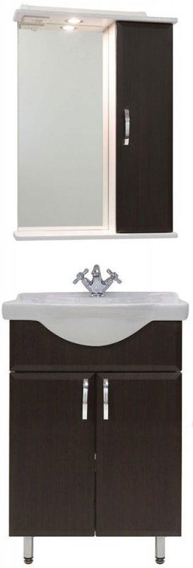Водолей Мебель для ванной Колумбия 55 R венге