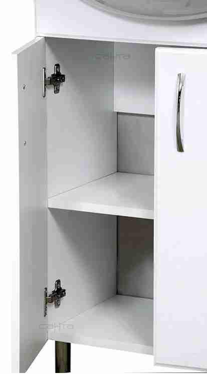 СанТа Мебель для ванной Сити Ника 50 R свет