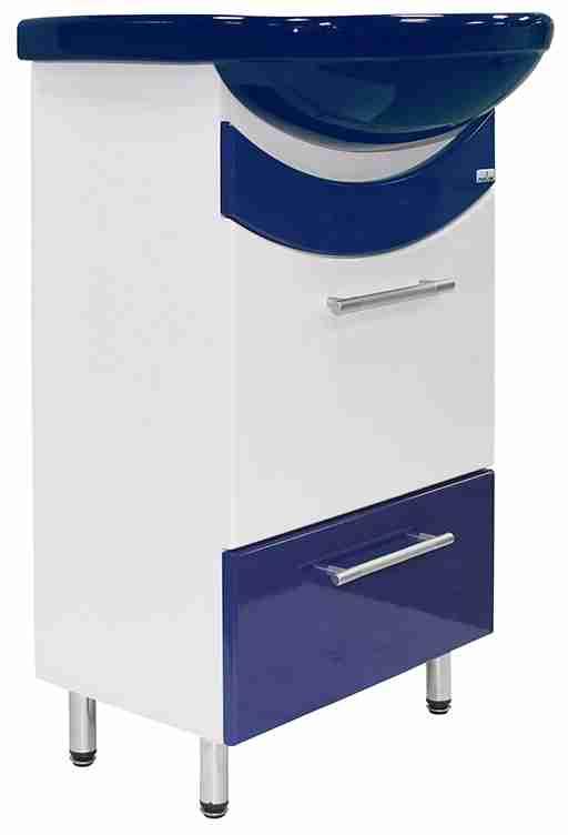 Mixline Мебель для ванной Радуга 52 синяя