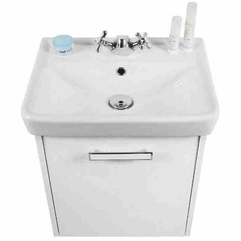 Водолей Мебель для ванной Мона 50 R белая