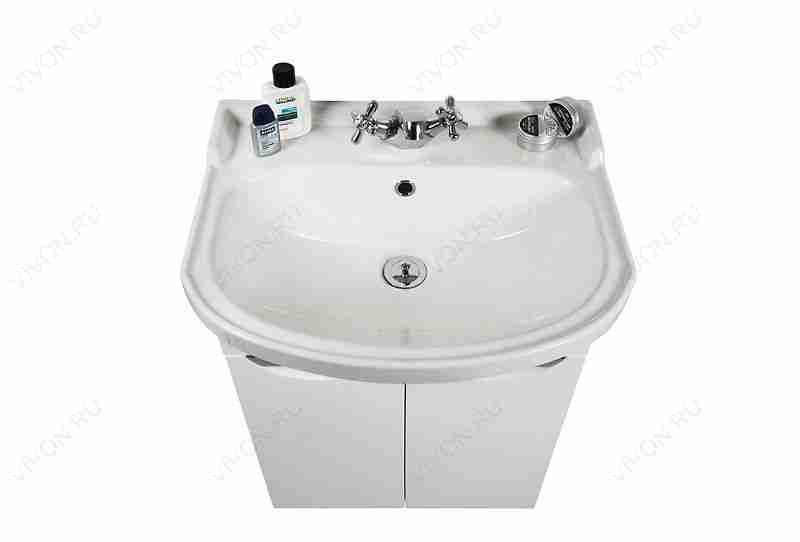 Водолей Мебель для ванной Лира 55 L белая