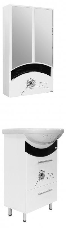 Mixline Мебель для ванной Радуга 52 одуванчик