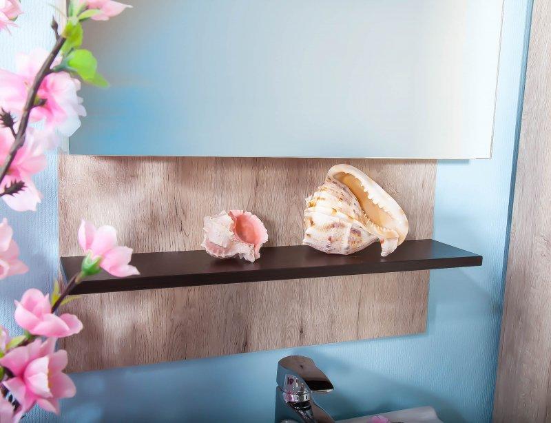 Бриклаер Мебель для ванной Карибы 50 дуб кантри/венге