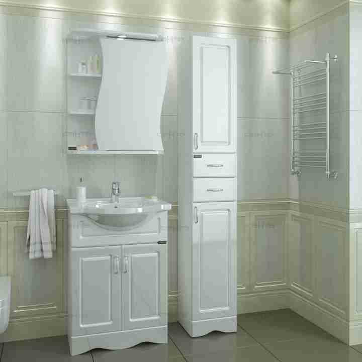 СанТа Мебель для ванной Верона 60 R свет