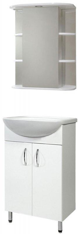 СанТа Мебель для ванной Сити Герда 60 свет