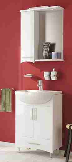 Mixline Мебель для ванной Одиссей 55 L