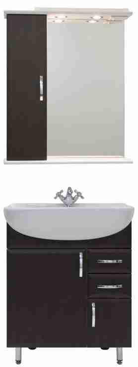 Водолей Мебель для ванной Колумбия 65 L венге