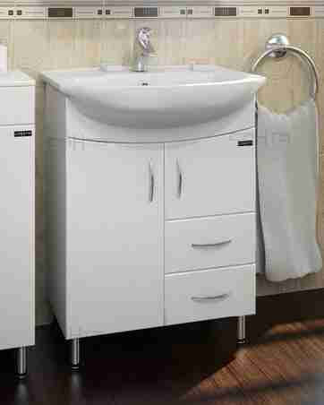 СанТа Мебель для ванной Элеганс Герда 65 с ящиками