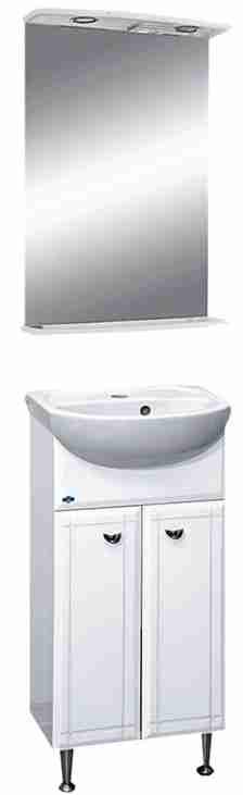 Misty Мебель для ванной Соло 40 две двери