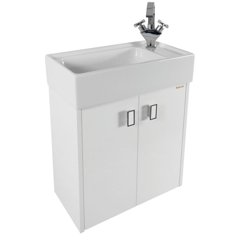Водолей Мебель для ванной Твист 50 R белая