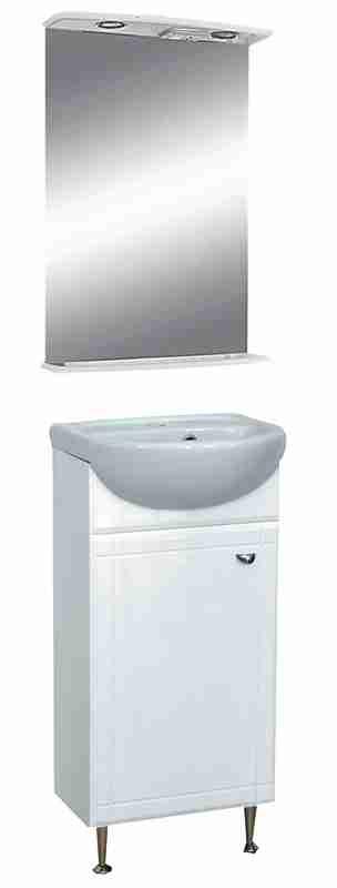 Misty Мебель для ванной Соло 40 L одна дверь