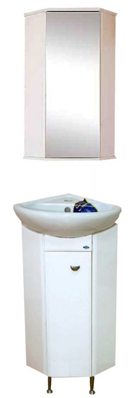 Misty Мебель для ванной Малютка угловая