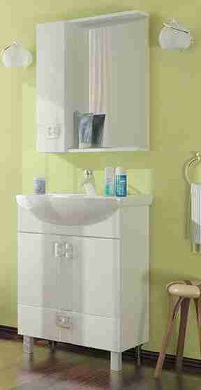 Mixline Мебель для ванной Квадро 1 65