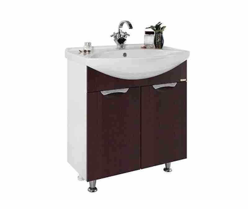 Водолей Мебель для ванной Лира 65 L венге
