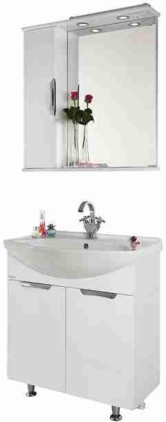 Водолей Мебель для ванной Лира 65 L белая