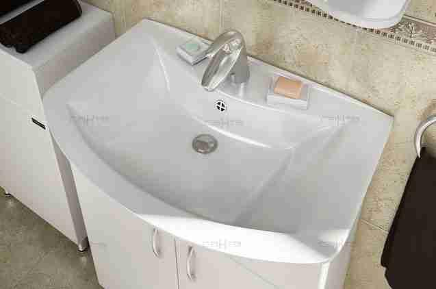 СанТа Мебель для ванной Грация Герда 60 свет, с ящиками