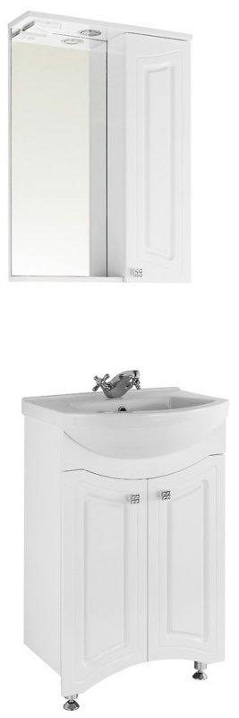 Водолей Мебель для ванной Адам 55 R