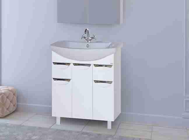 Misty Мебель для ванной Лаванда 70 с ящиками