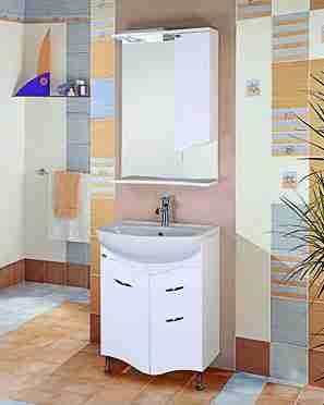 Onika Мебель для ванной Лайн 60 с ящиком R