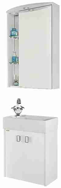 Водолей Мебель для ванной Твист 70 R белая