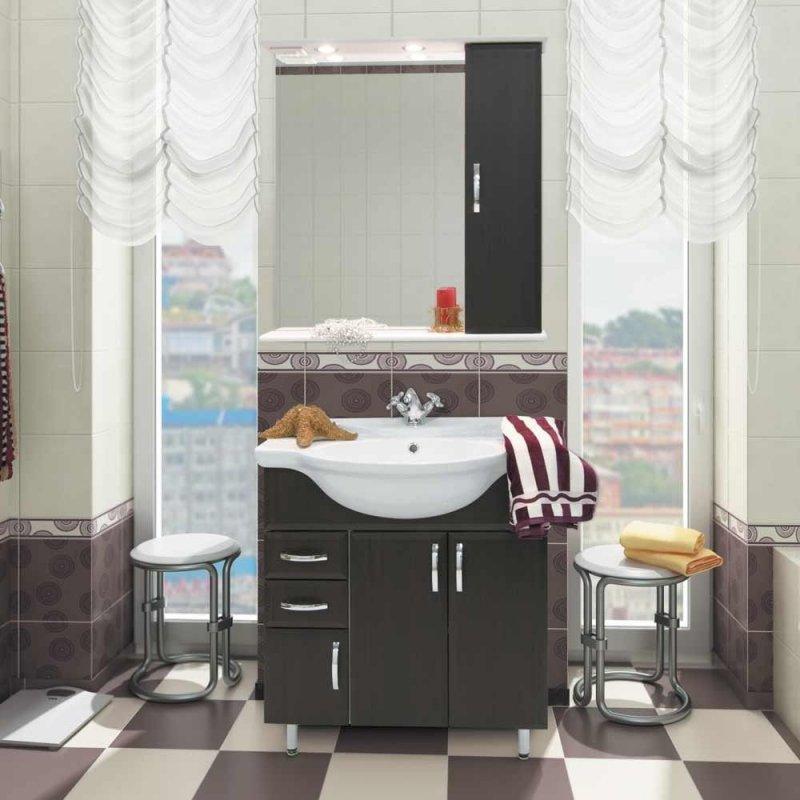 Водолей Мебель для ванной Колумбия 75 R венге