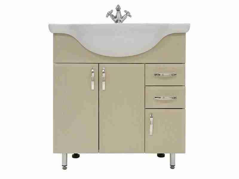Водолей Мебель для ванной Колумбия 75 L дуб