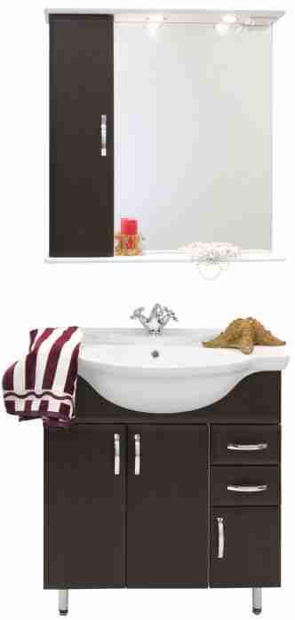 Водолей Мебель для ванной Колумбия 75 L венге