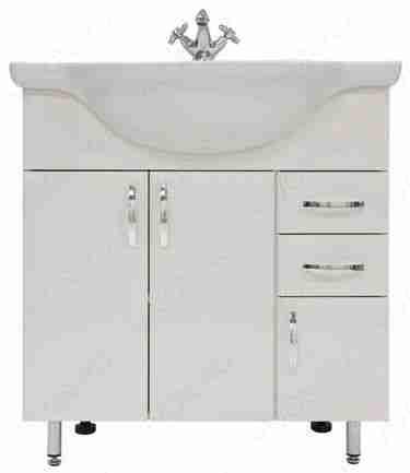 Водолей Мебель для ванной Колумбия 75 L белый