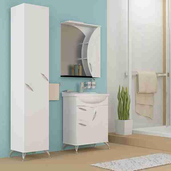 Mixline Мебель для ванной Магнолия 60 R белая