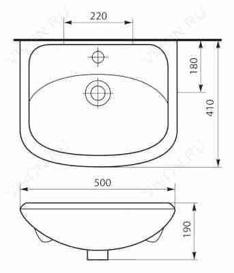 Misty Мебель для ванной Уют 50 L с нижним ящиком белая