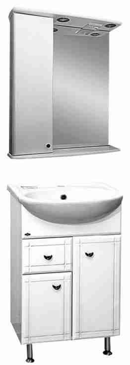 Misty Мебель для ванной Уют 50 L с ящиком