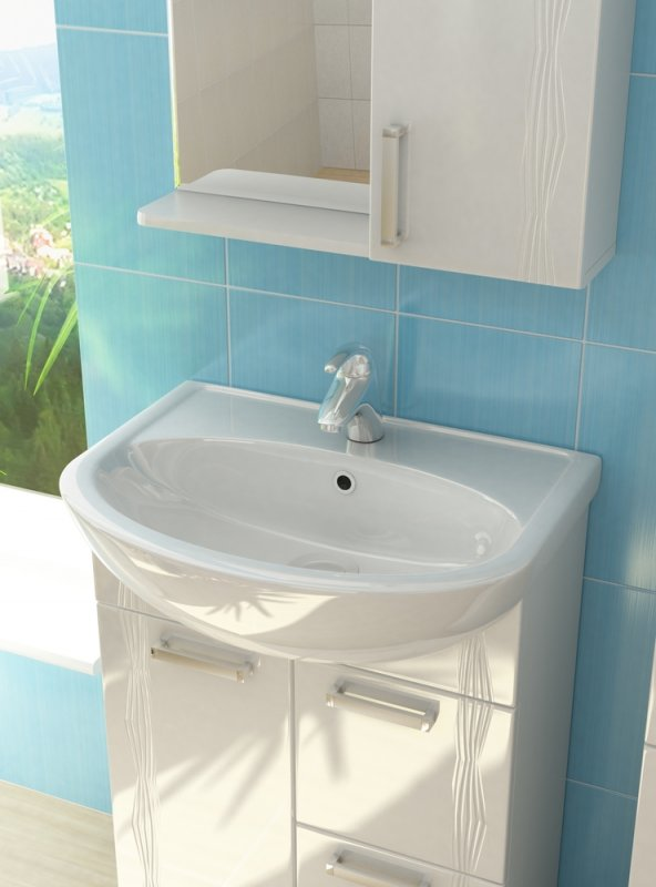 Vigo Мебель для ванной Atlantic 2-60 R с б/к, свет