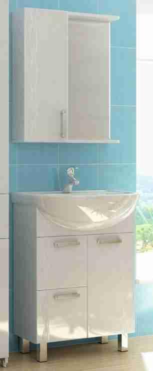 Vigo Мебель для ванной Atlantic 2-60 L с б/к, свет