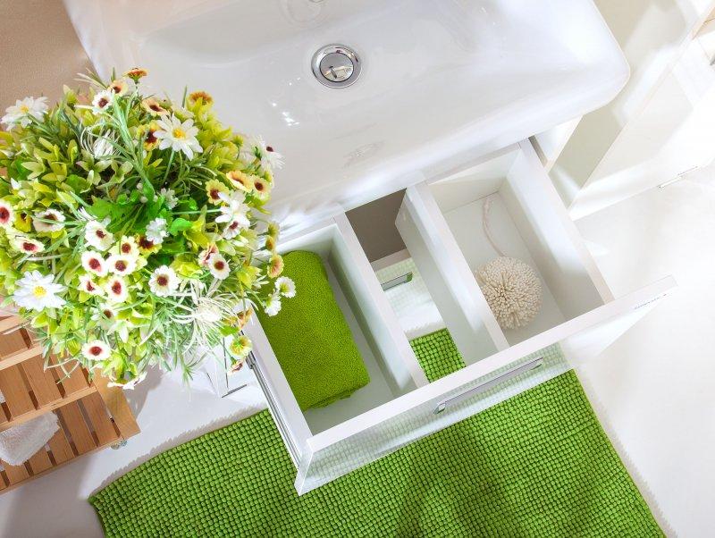 Бриклаер Мебель для ванной подвесная Палермо 55