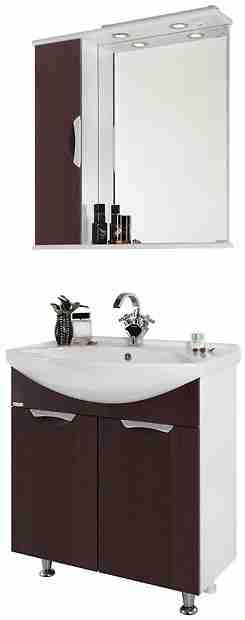 Водолей Мебель для ванной Лира 75 L венге
