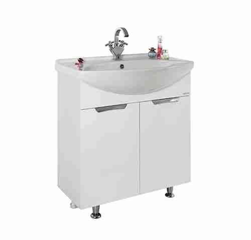 Водолей Мебель для ванной Лира 75 L белая