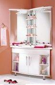 Акватон Мебель для ванной Лас-Вегас 100 L угловая
