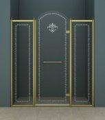Cezares Душевая дверь в нишу RETRO-A-B-13-150-CP-Br-R