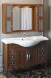 Opadiris Мебель для ванной Мираж 120 орех