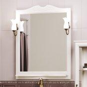Opadiris Зеркало для ванной Клио 80 беленый бук