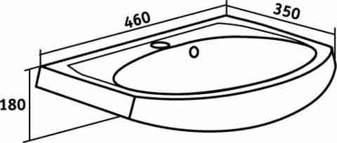 Runo Мебель для ванной Уют 45 Азов