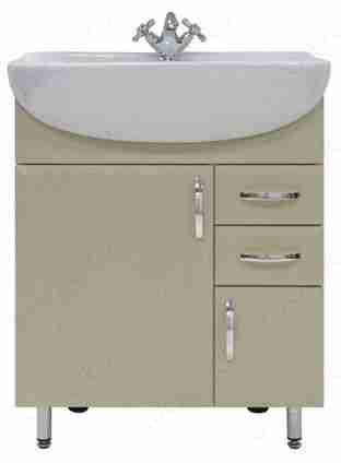 Водолей Мебель для ванной Колумбия 65 L дуб