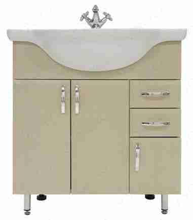 Водолей Мебель для ванной Колумбия 75 R дуб